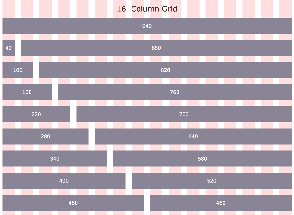 Template 960 grid system 16 column layout this diagram was created template 960 grid system 16 column layout this diagram was created in conceptdraw pro ccuart Gallery