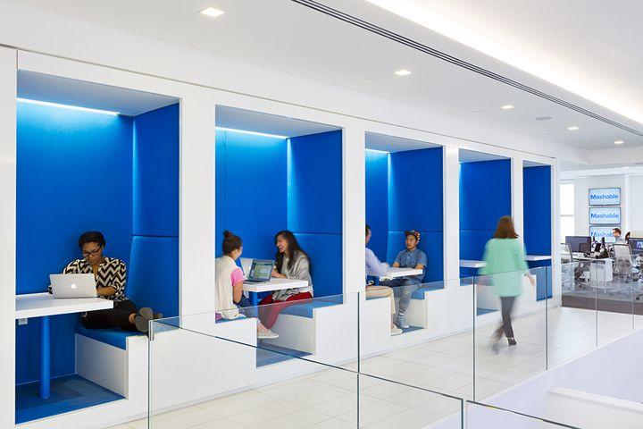 mashable headquarters by studios new york city retail design blog
