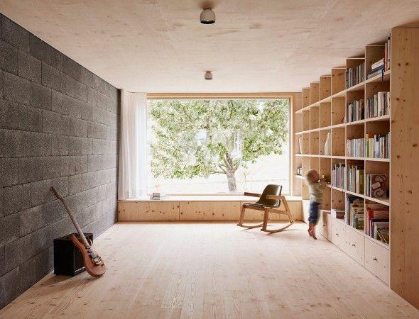 FEUERSTEIN Fenster - Größe, Bodenabstand DaHaM - Inspiration - architekt wohnzimmer