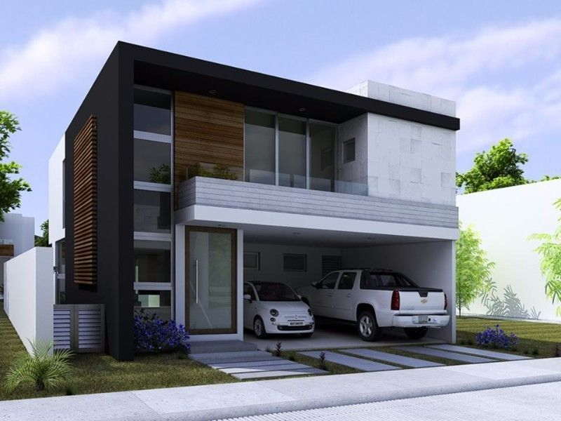 Excelente propiedad planta baja garage para dos autos for Casas minimalistas grandes