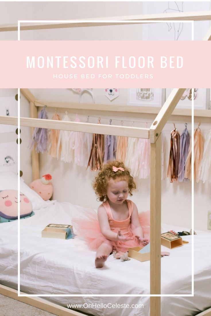 Lilau0027s Montessori Floor Bed House Bed