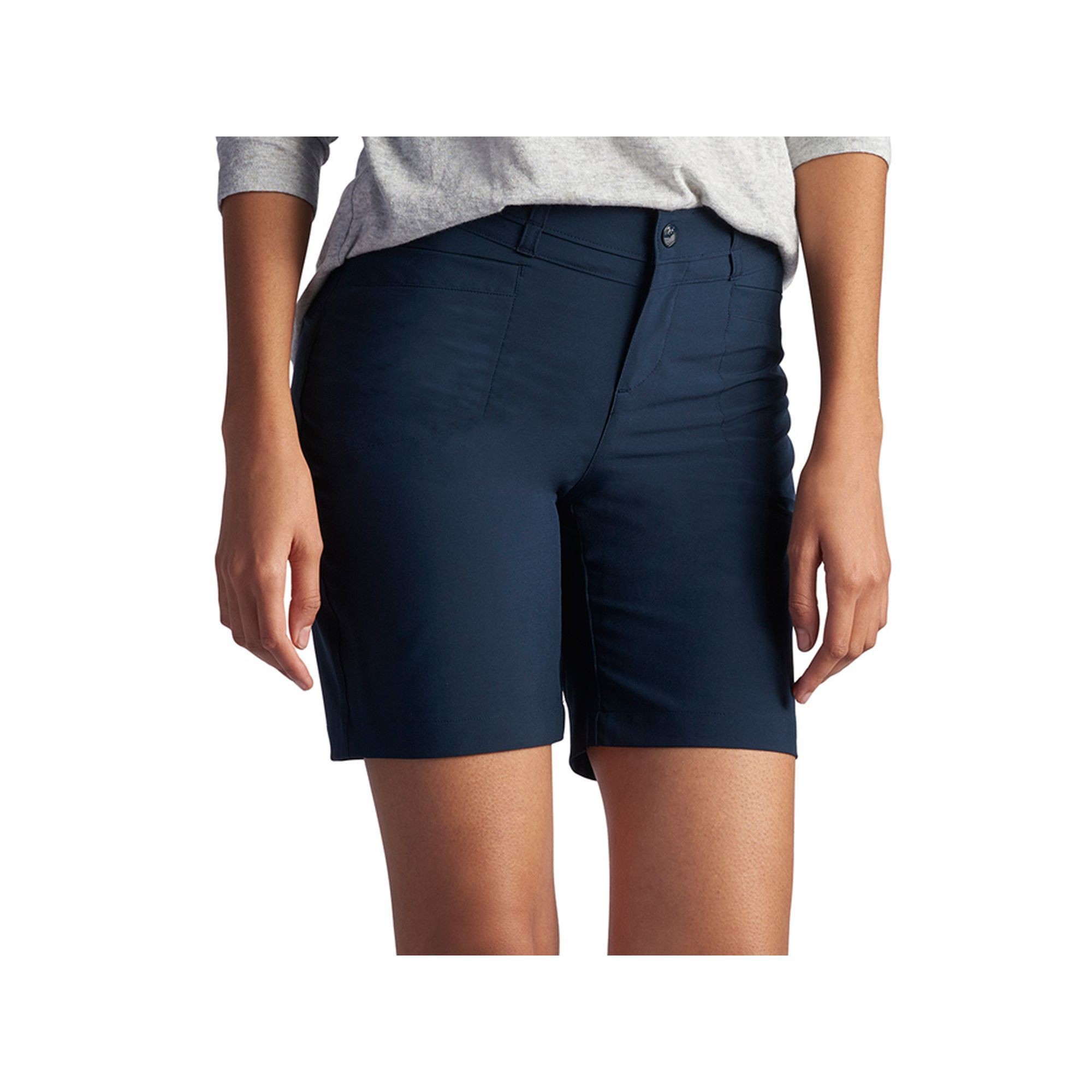 Petite Lee Milly Relaxed Fit Active Bermuda Shorts Bermuda