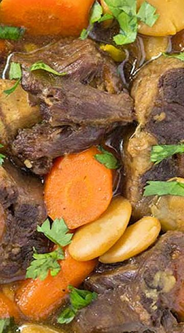 pressure cooker jamaican oxtail stew  recipe  oxtail