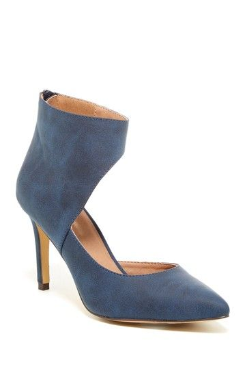 Janine Ankle Wrap Pump by Michael Antonio on @HauteLook