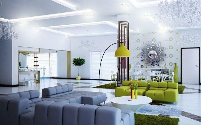▷ 1001 + Ideen zum Thema Welche Farben passen zusammen - wohnzimmer lila braun