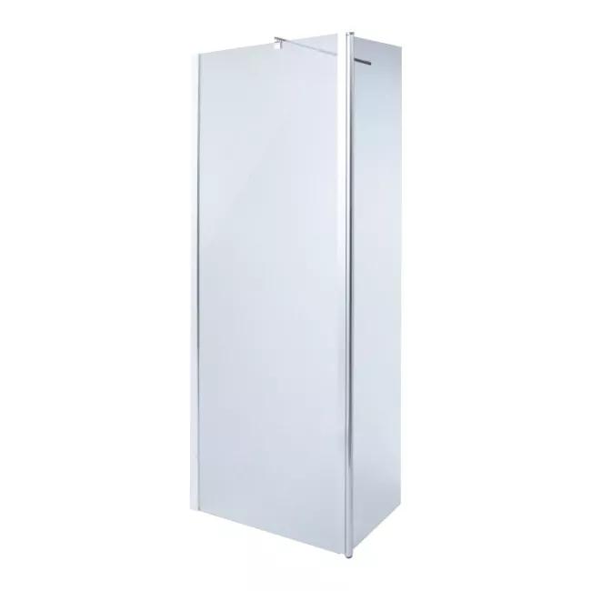 Kabina Prysznicowa Walk In Onega 80 45 Cm Chrom Transparentny Scianki I Drzwiczki Locker Storage Decor Home Decor