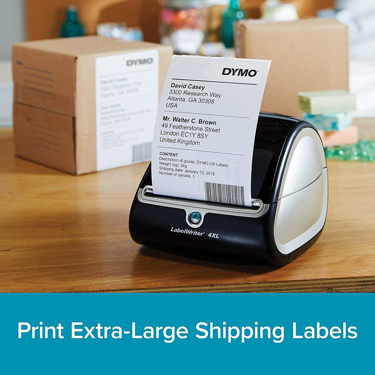 Amazon com AD : DYMO LabelWriter 4XL STICK ON Labels for