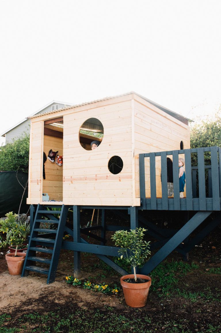 How to build your own modern playhouse also eagle landed play houses rh pinterest