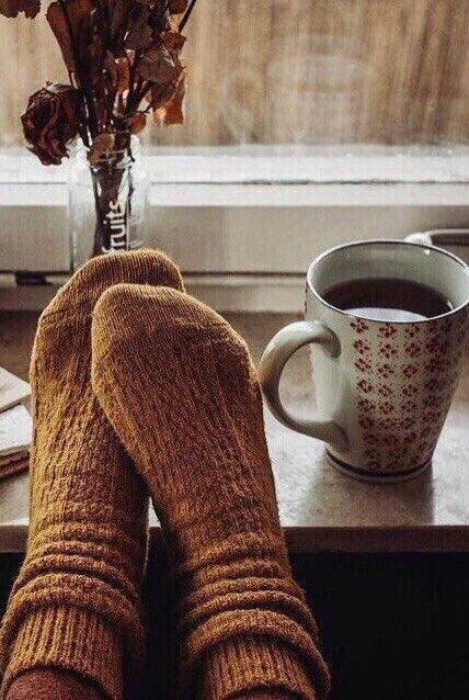 Photo of Socks and tea
