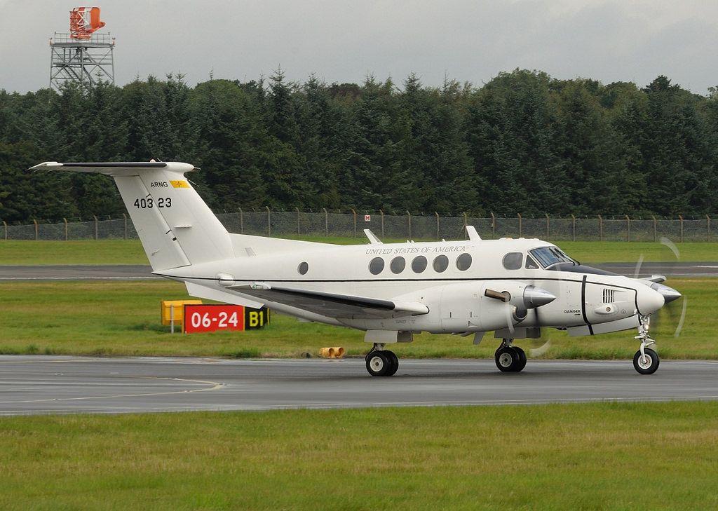 Beechcraft C12R Huron (King Air 200) US ARMY Military