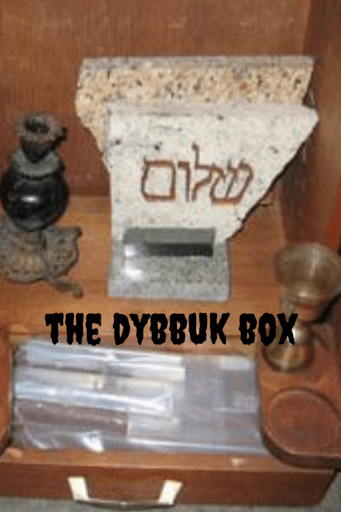 Haunted Possessions The Dybbuk Box From Tiny Pennies Haunted Objects Haunting Box