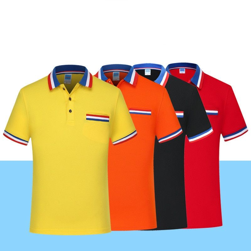 Big Size 3xl New Men's Polo Shirt Casual Short Sleeve Smart Plain ...