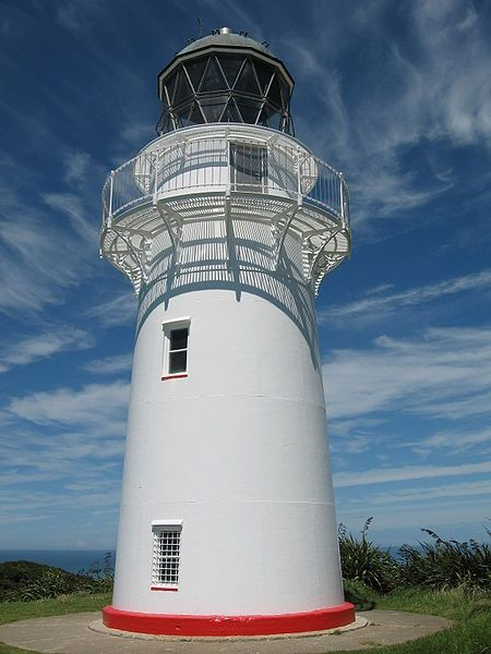 East Cape lighthouse stands on the most easterly point on the North Island. The first lighthouse to see the sun in the world.