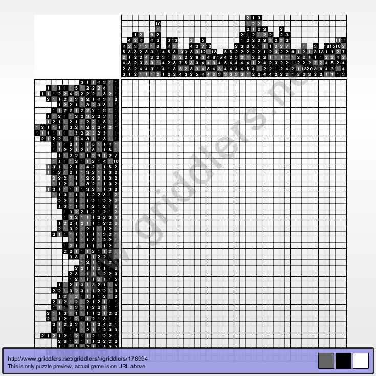 puzzle 178994 - Jozef Balaz, Vis-a-vis | Griddlers Puzzles
