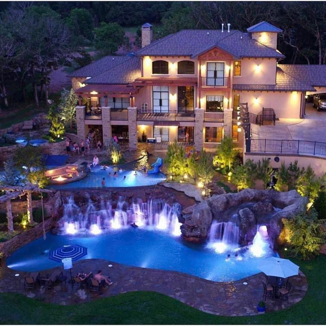 15 luxury homes with pool millionaire lifestyle dream home lottery winners mansion with - Luxury Homes With Pools