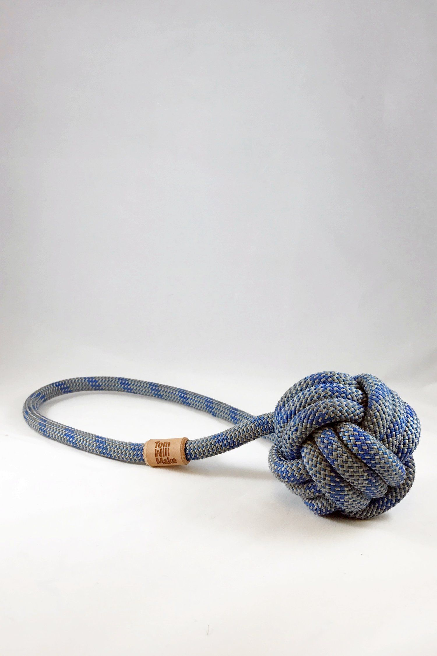 The Monkey S Fist Is A Hefty Dog Toy Made From Reclaimed Climbing