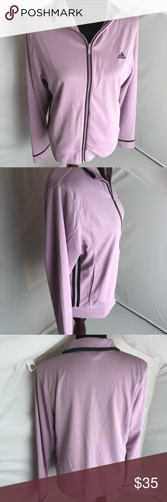 Adidas Lavender Mesh Full Zip Track Jacket L Adidas Lavender Mesh Full Zip Track Jacket L Excellent Condition Adidas Tops Jackets Track Jackets Clothes Design [ 1740 x 580 Pixel ]