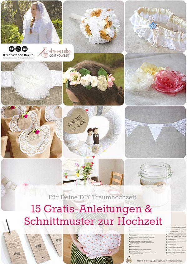 15 Gratis Anleitungen Und Schnittmuster Zur Hochzeit Nahen
