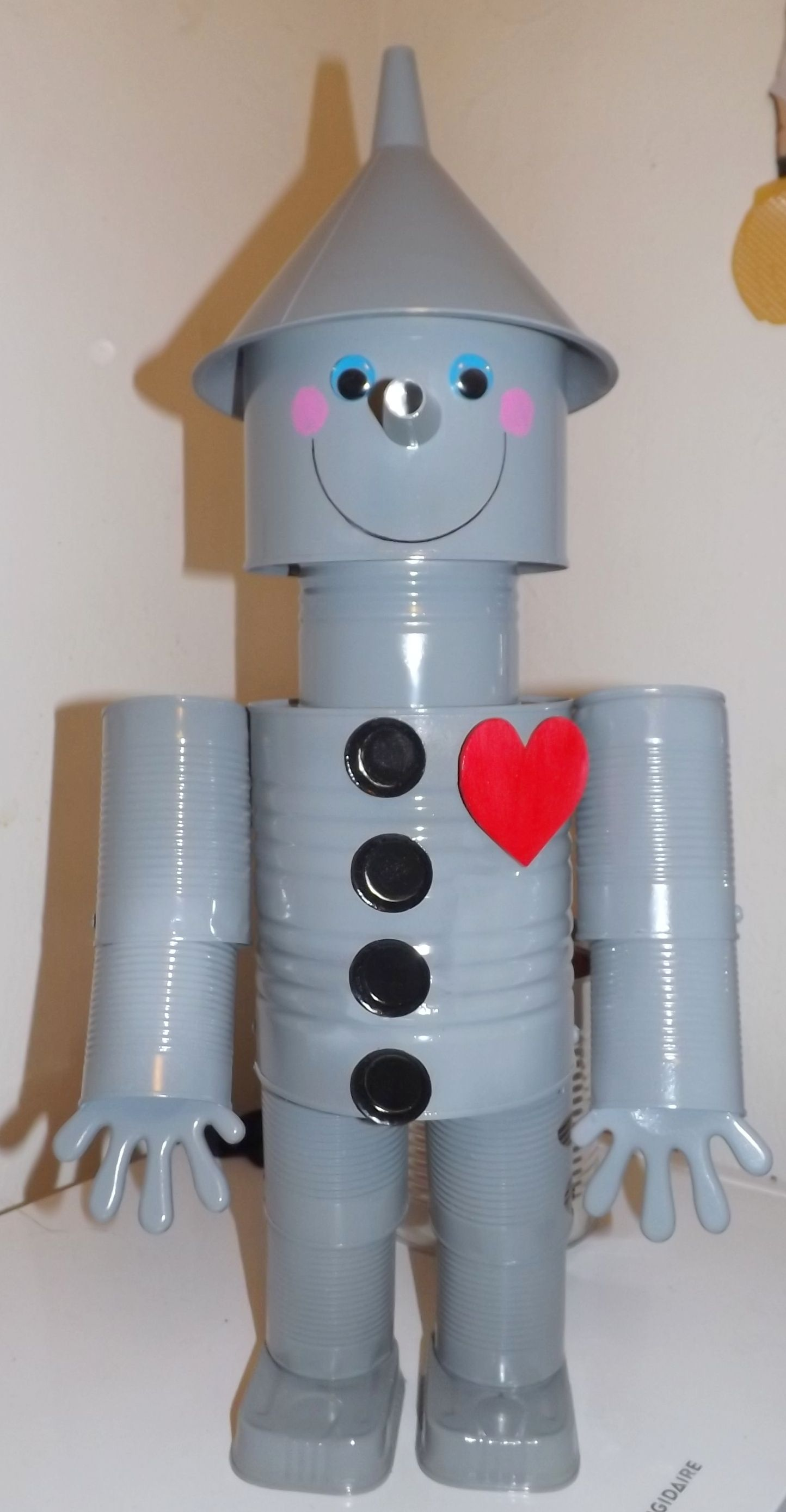 Tin Man | Tin man, Craft and Gardens for Recycled Projects That Are Useful  76uhy