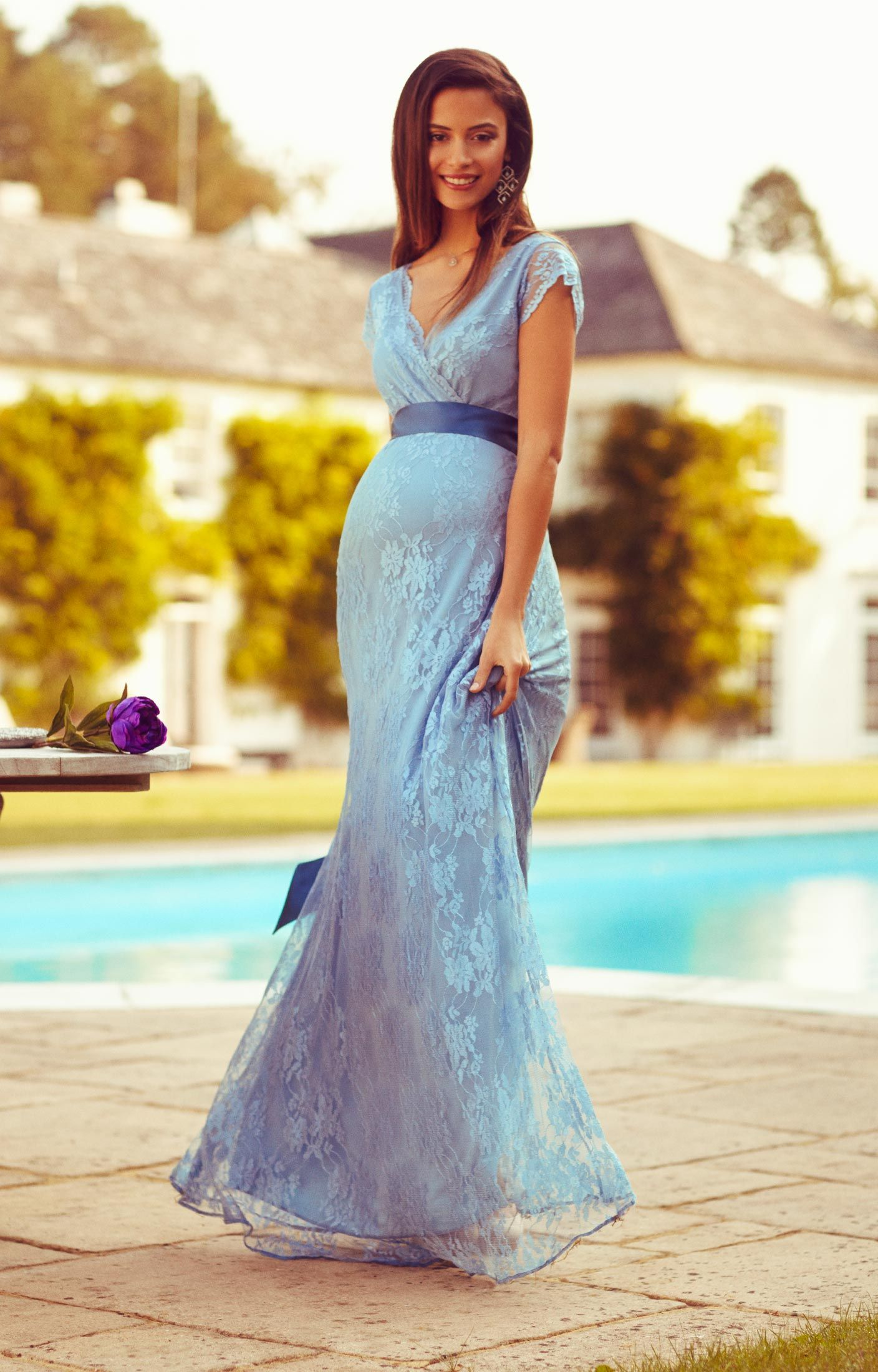 Eden Gown Long | Tiffany rose, Maternity bridesmaid dresses and Tiffany