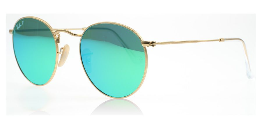ray ban sonnenbrille matt gold