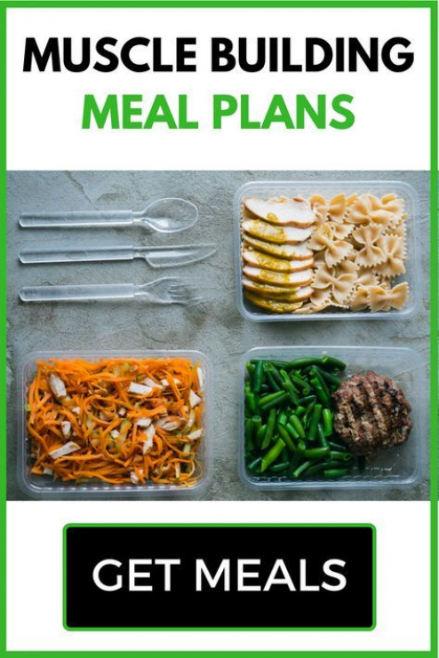 Best Muscle Building Meal Plans For Skinny Guys Looking To Bulk Up Discover Optimal Macros And Muscle Building Meal Plan Lean Bulk Diet Muscle Building Foods