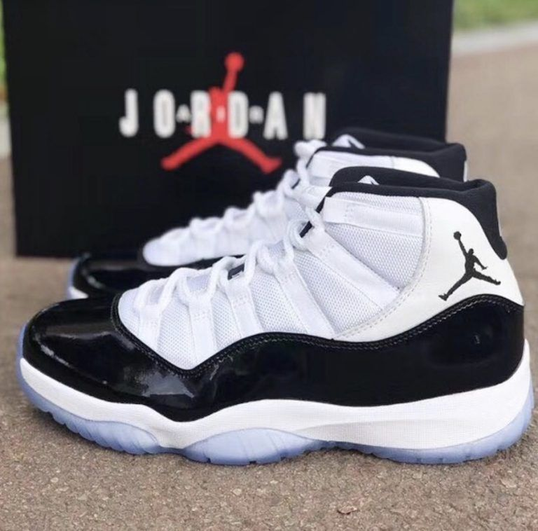 new concept 867b1 3979e Air Jordan 11 Concord 2018 Retro OG Box