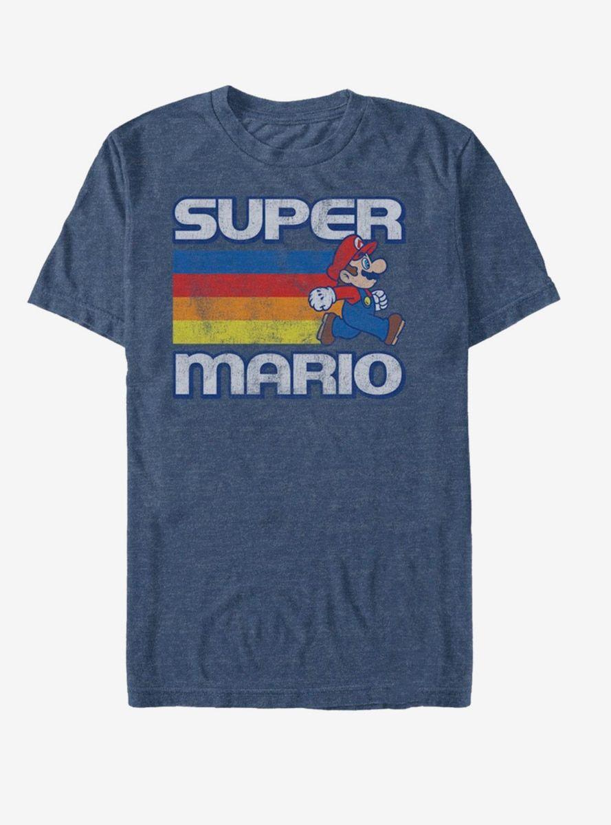 c028d8db0 Nintendo Super Mario Rainbow Stripes T-Shirt in 2019 | Products ...