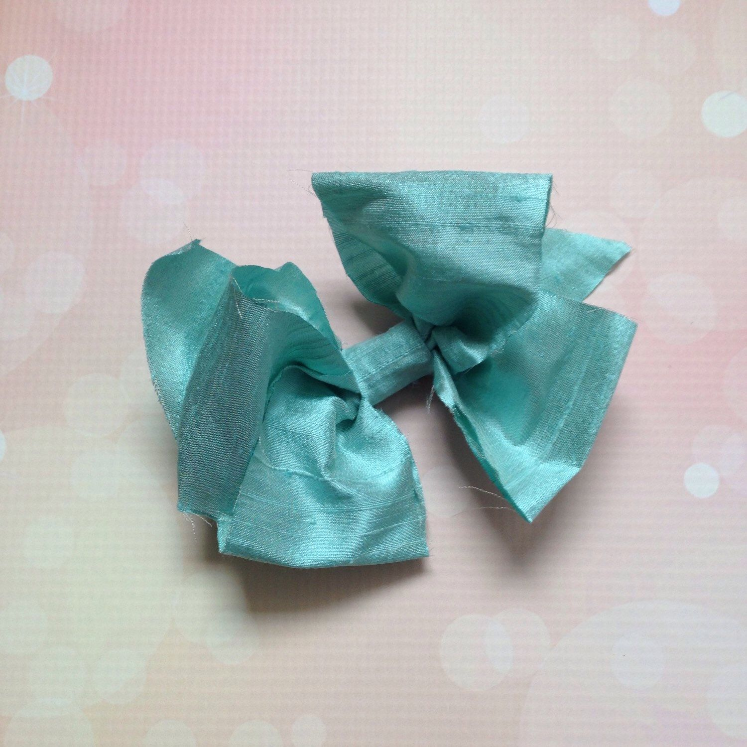 A personal favorite from my Etsy shop https://www.etsy.com/listing/269455262/silk-bow-5-hair-bow-girls-hair-bows-bows