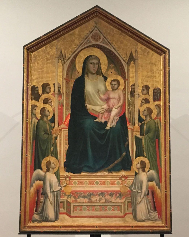 Uffizi Madonna Painting