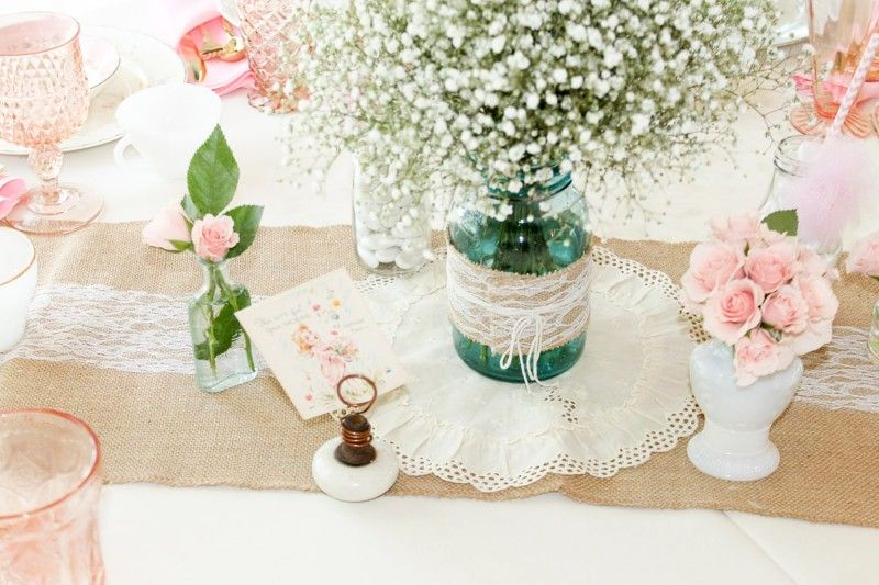 Vintage Southern Garden Themed Baby Shower Baby Madison Shower