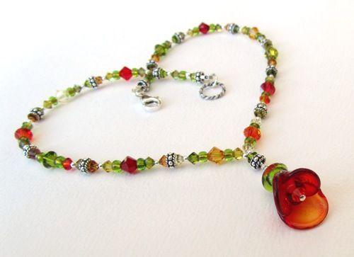 FHF Team Blog - handmade lampwork glass beads, pendants, findings and jewellery: Lynn's Lampies - February 2012