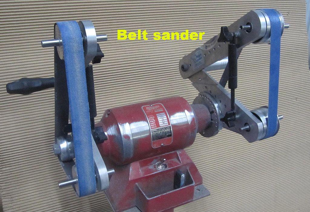 Belt Sander Knife Making Metal Working Tools Metal