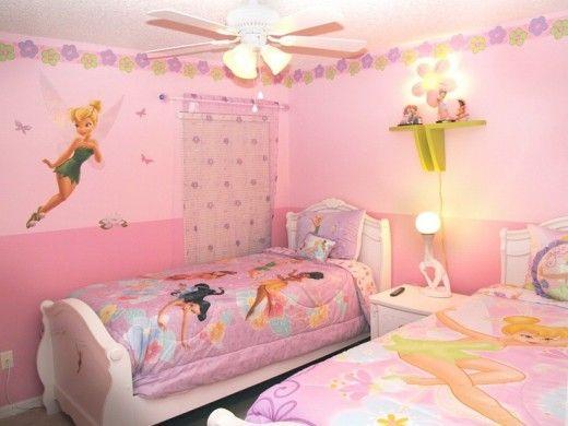 Disney Tinkerbell Bedroom Decor Room Bedrooms