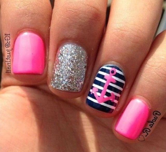 Pin de Fashion_girl101 en My nails | Pinterest | Diseño de verano y ...