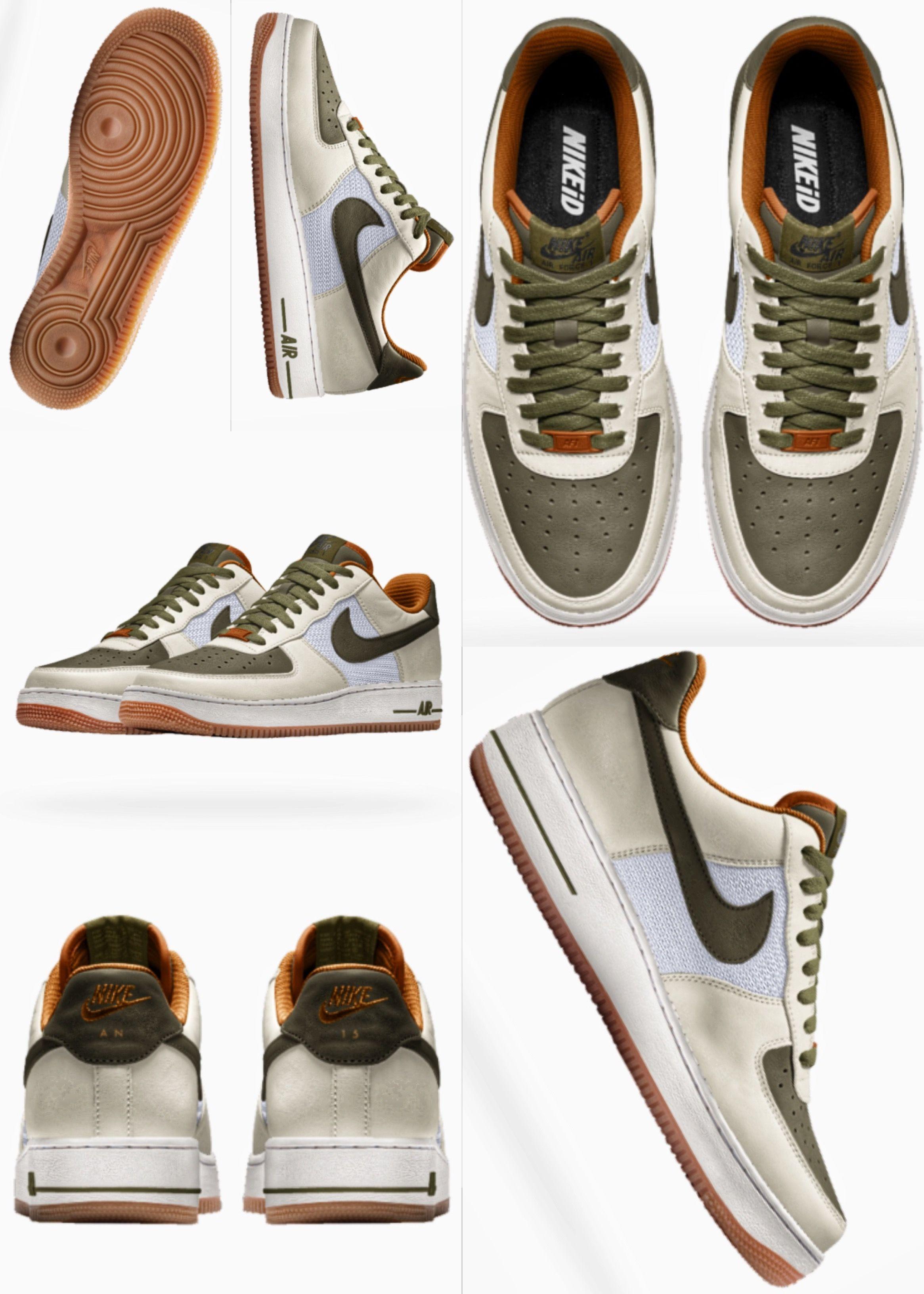 Air Force 1 Low iD | Nike id, Vans old