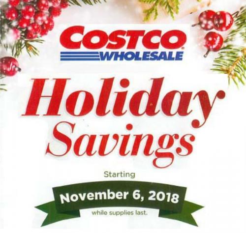 Costco Holiday Savings Ad 2018 Food Should Taste Good Costco