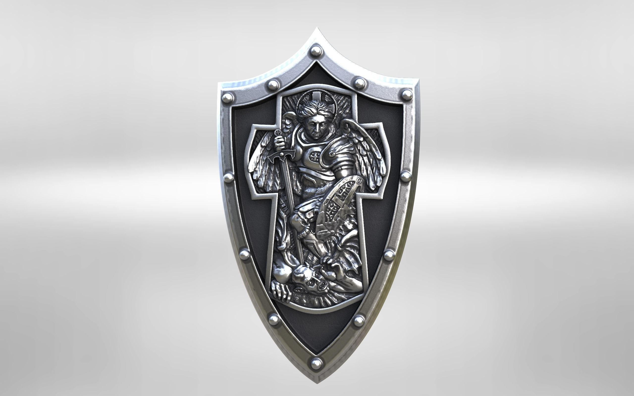 Archangel michael cross shield 3d print model archangel archangel michael cross shield 3d print model biocorpaavc Images