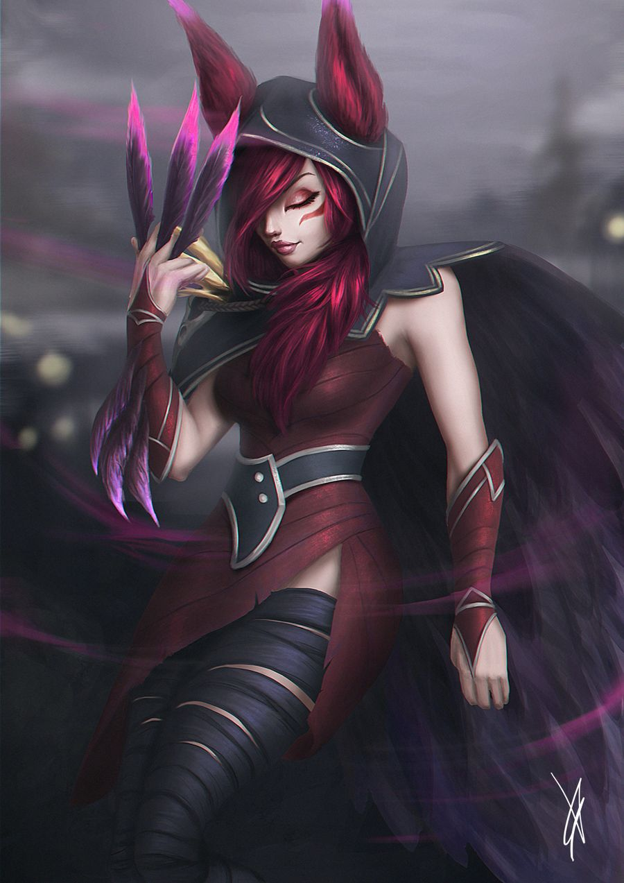 Xayah Lol League Of Legends League Of Legends Characters