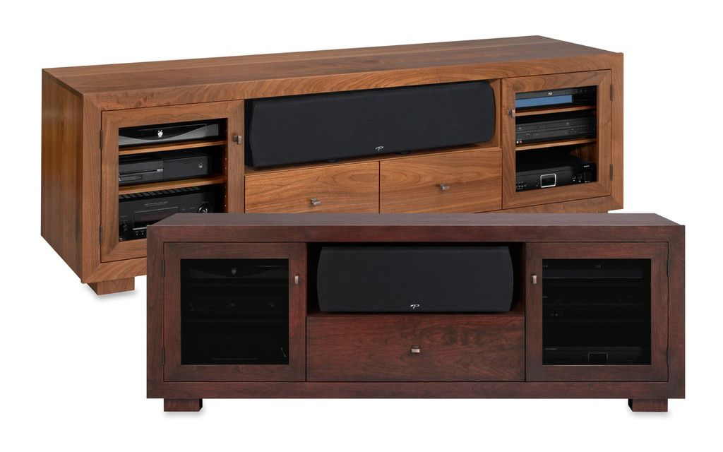 Solid Wood Media Consoles High End Tv Stands Usa