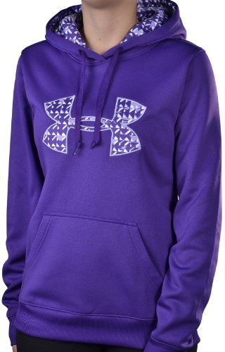 d1d4c5ac54f6 Under Armour Women`s Big UA Logo Hoodie Sweatshirt-Purple (bestseller)