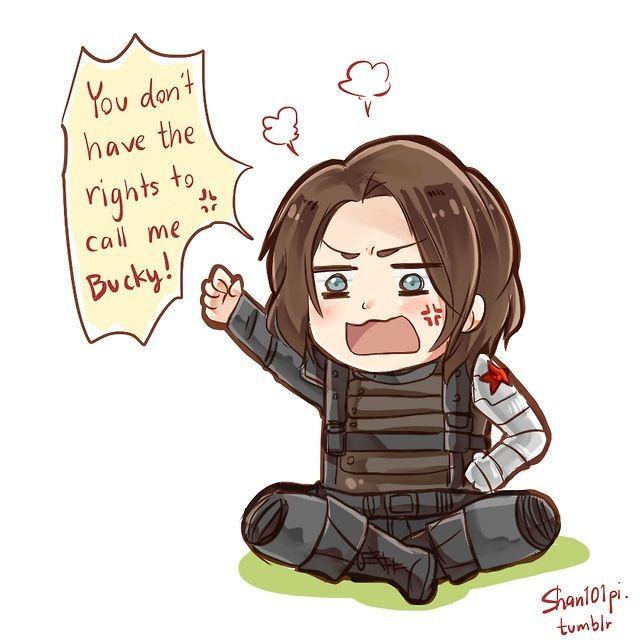 Bucky X Little Reader