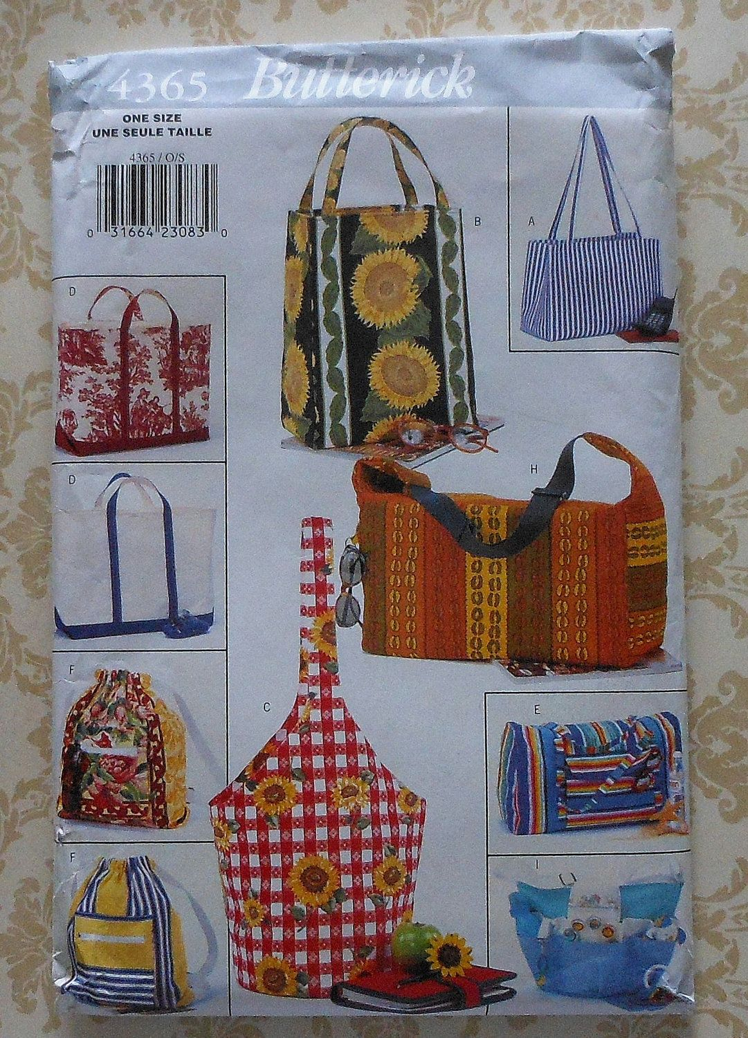 Tote bags sewing pattern sewing patterns pinterest bag tote bags sewing pattern jeuxipadfo Gallery