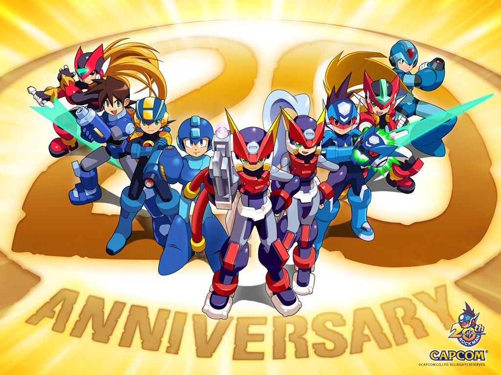 How To Enjoy Megaman Games Online Mega Man Birthday Background Wallpaper Man Wallpaper