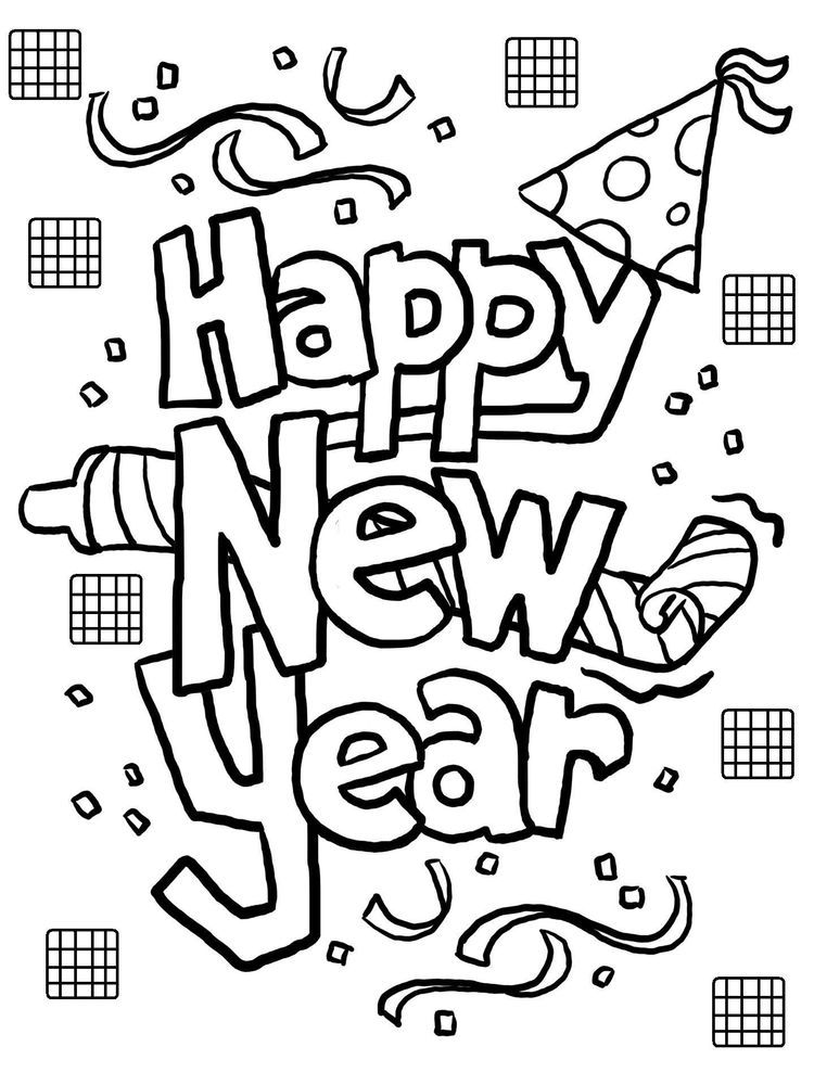 New Year Coloring Pages For Toddlers. The following is our