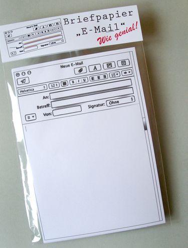 e-mail-briefpapier | email | pinterest | diy papier, 30 tag und, Einladung