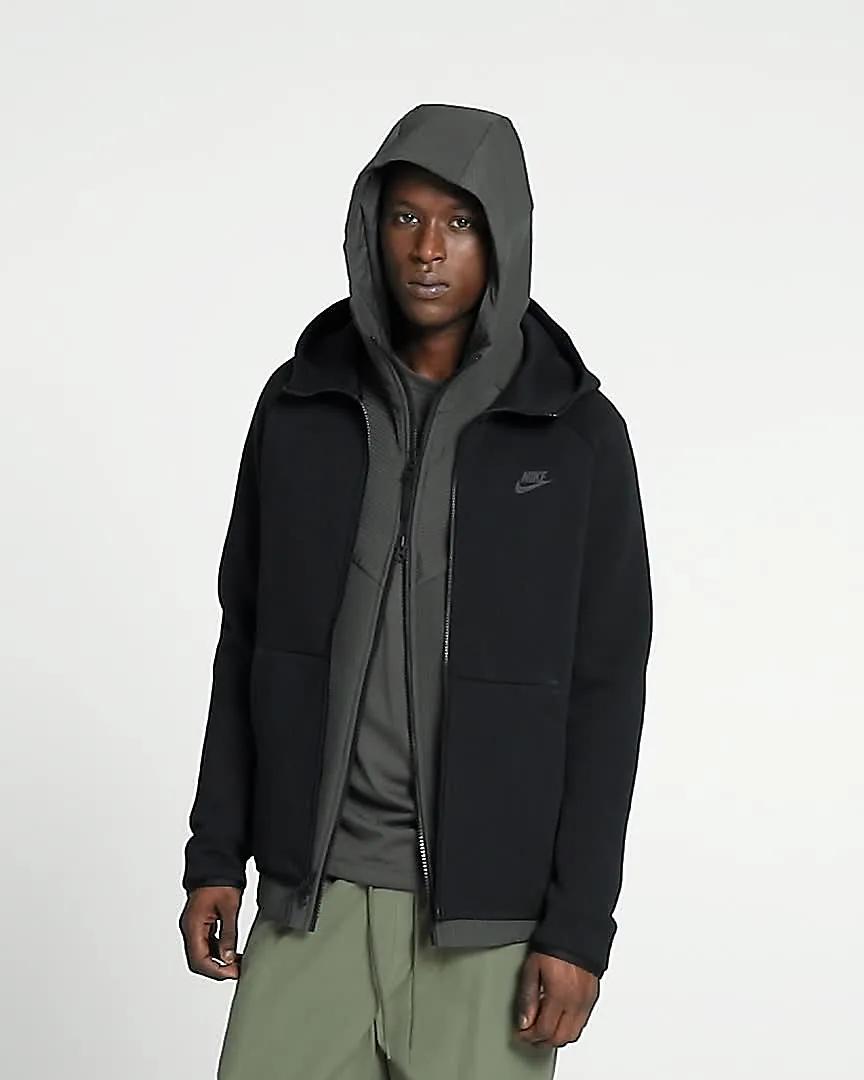 Nike Sportswear Tech Fleece Men S Full Zip Hoodie Nike Com Gb Tech Fleece Hoodie Nike Tech Fleece Tech Fleece [ 1080 x 864 Pixel ]