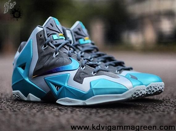 new product 14120 578c7 ... australia authentic armory slate gamma bleu light armory bleu nike  lebron 11 for sale db668 6c5aa