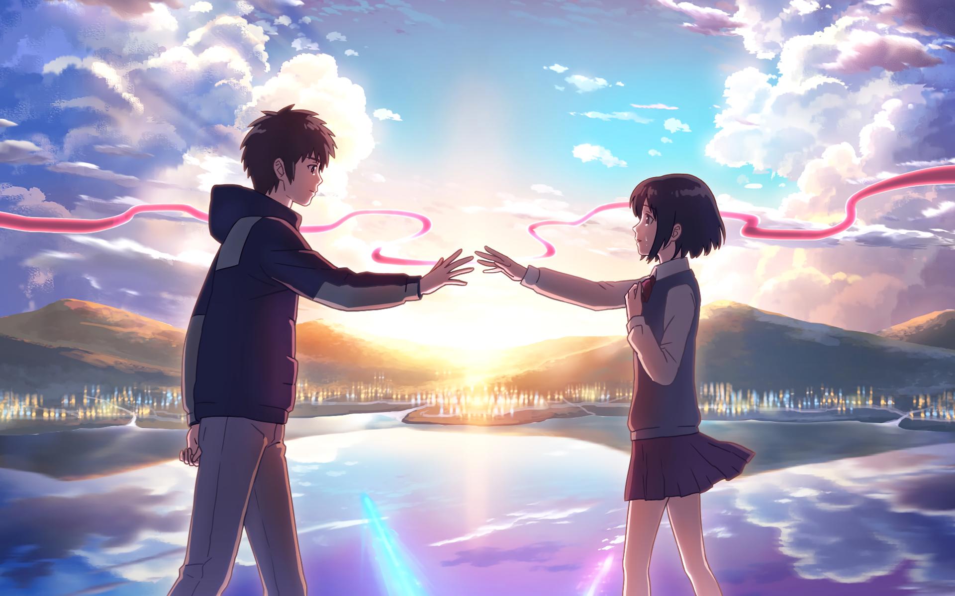 70 Wallpaper Wa Anime Romantis Gratis Terbaik Fondo De Pantalla De Anime Peliculas Anime Romanticas Kimi No Na Wa