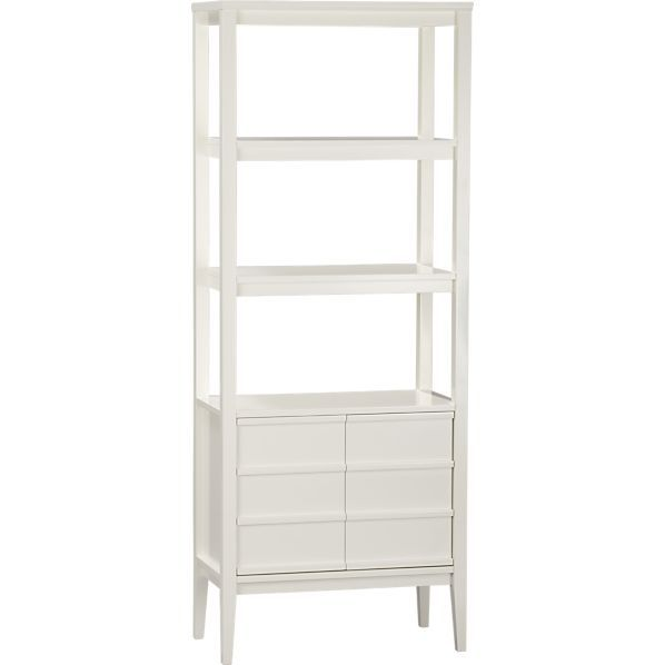 White Book Case Chelsea Bamboo Bookcase Billy